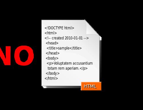 Blogautoren können kein HTML-Code in Beiträgen verwenden