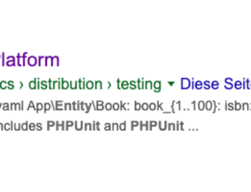 API Platform und damit auch Symfony (sowie PHP) ist älter als man denkt